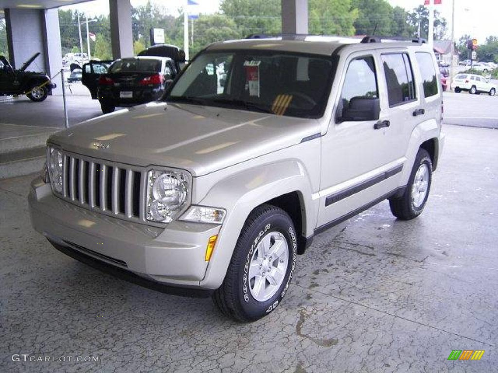 2009 light graystone pearl jeep liberty sport #18644568 | gtcarlot