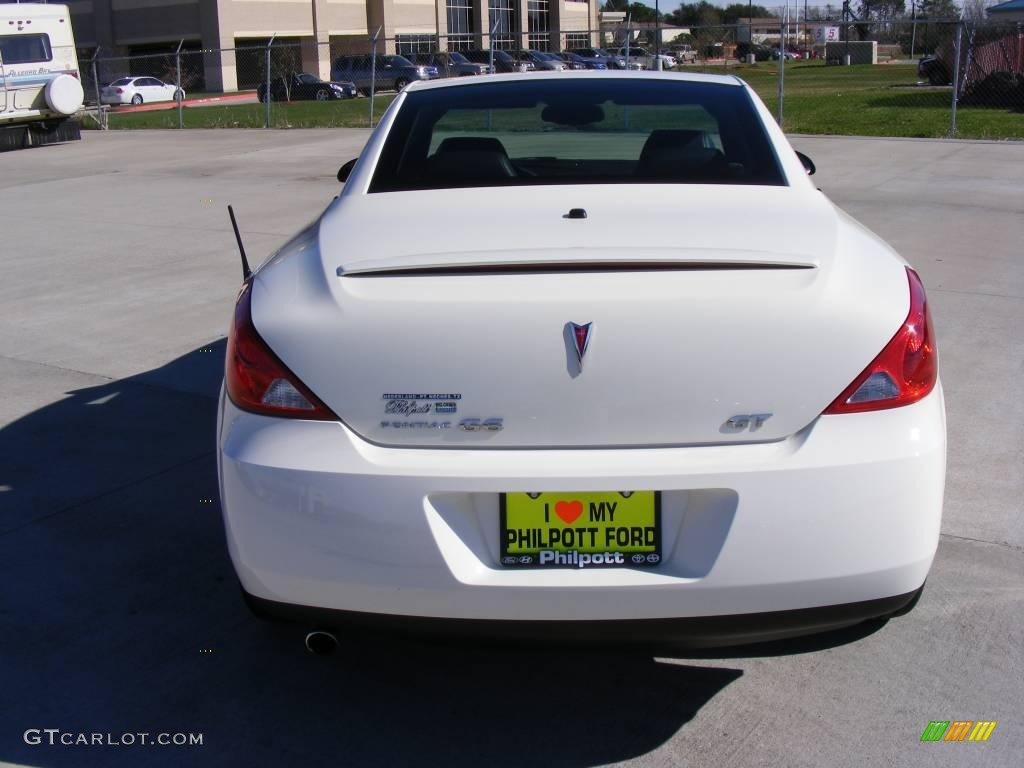 2008 Ivory White Pontiac G6 GT Convertible #1860074 Photo #7 ...
