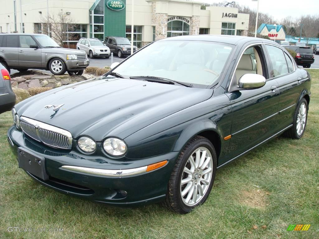 2005 british racing green jaguar x type 3 0 vdp 1859992 photo 23 car color. Black Bedroom Furniture Sets. Home Design Ideas