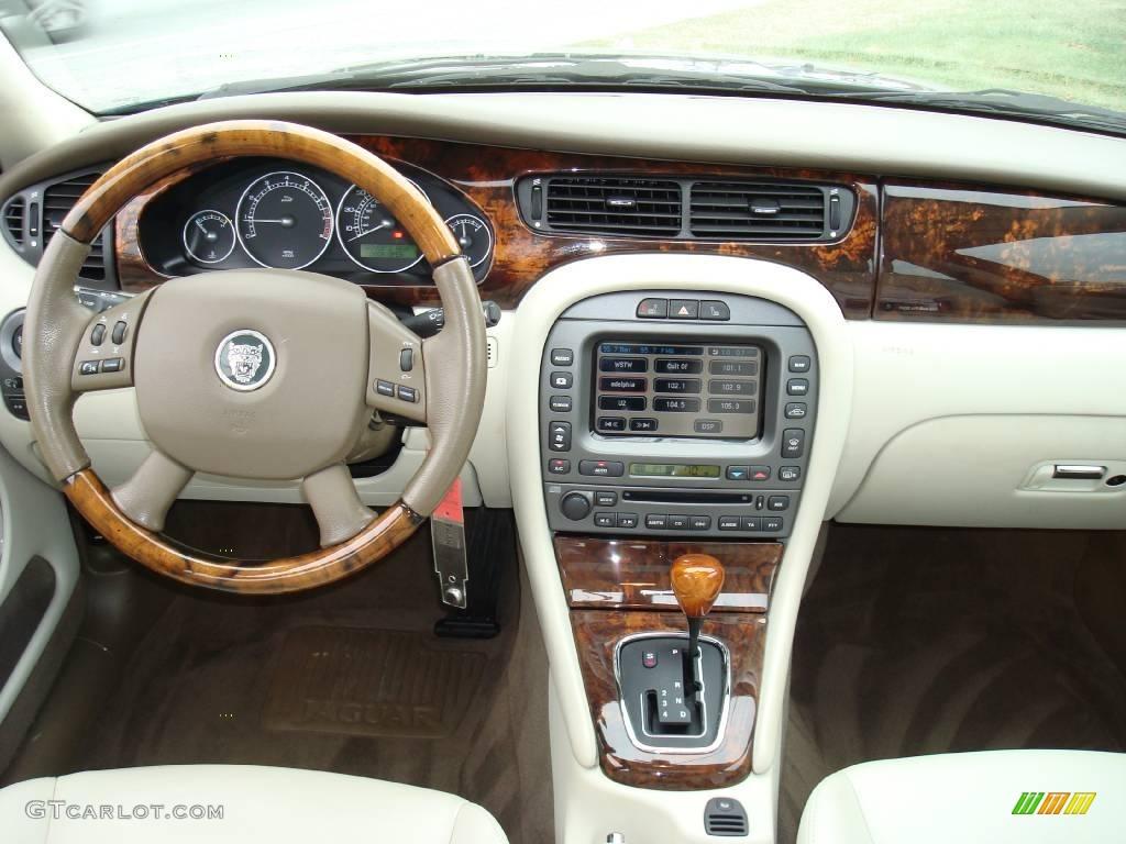2005 x type 3 0 vdp british racing green ivory photo 23