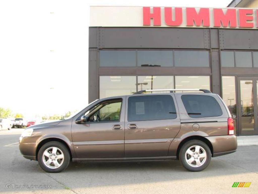 2008 Desert Brown Metallic Chevrolet Uplander Lt 18703562