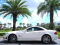 designo Magno Cashmere Matte White 2009 Mercedes-Benz SL 63 AMG Roadster