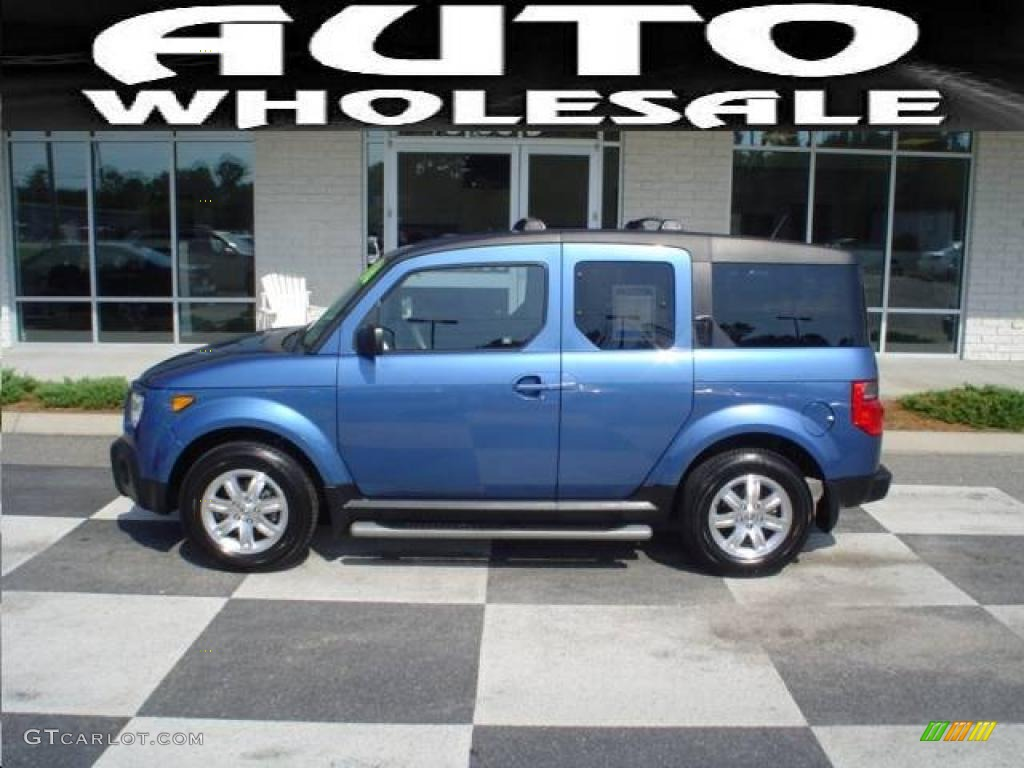 2006 atomic blue metallic honda element ex p awd 18700614. Black Bedroom Furniture Sets. Home Design Ideas