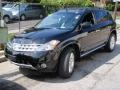 2006 Super Black Nissan Murano SL AWD  photo #1