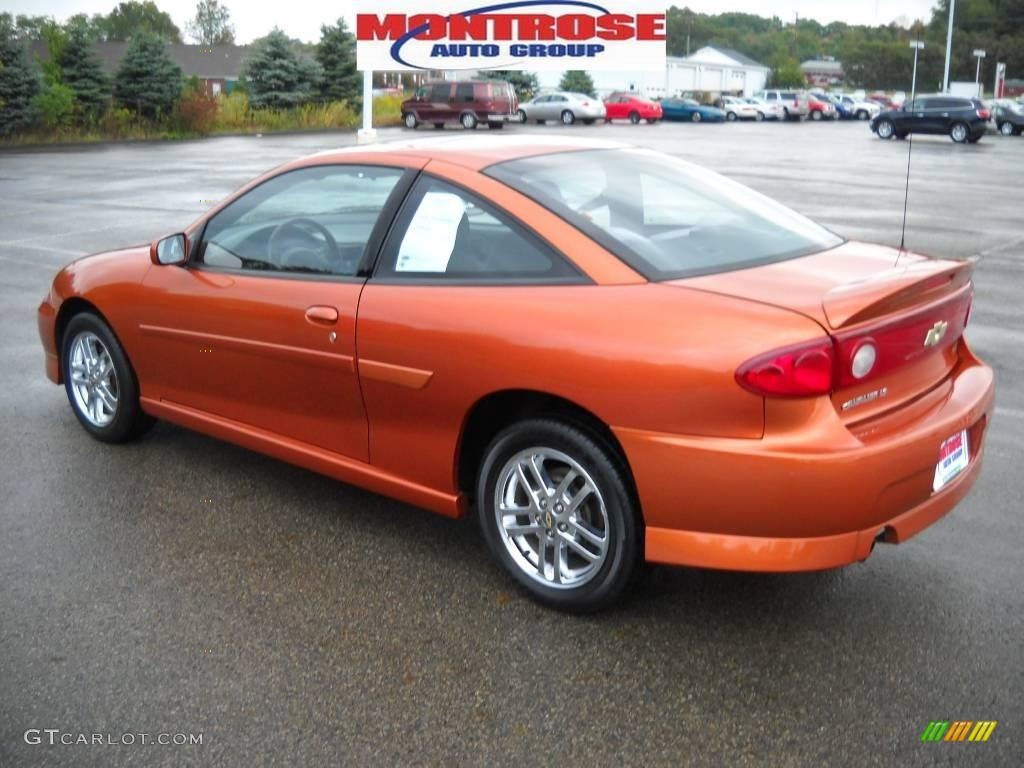 2004 Sunburst Orange Chevrolet Cavalier Ls Sport Coupe 18795200 Photo 6 Gtcarlot Com Car Color Galleries