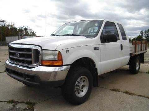 2000 Ford F250 Super Duty XL Extended Cab 4x4 Chassis Data, Info and Specs