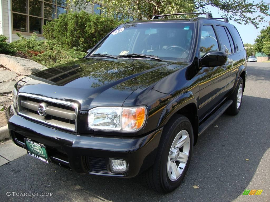 2003 Super Black Nissan Pathfinder Le 4x4 18795242