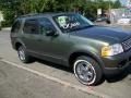 2003 Estate Green Metallic Ford Explorer XLT 4x4  photo #3