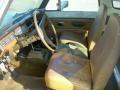 1976 Scout II Traveler 4x4 Saddle Interior