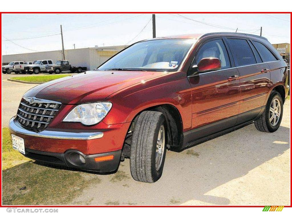 2007 cognac crystal pearl chrysler pacifica touring 18790712 car color galleries. Black Bedroom Furniture Sets. Home Design Ideas