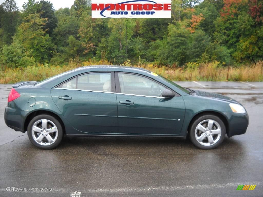 2006 pontiac g6 gt sedan emerald green metallic color light taupe. Black Bedroom Furniture Sets. Home Design Ideas