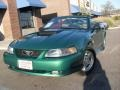 2002 Electric Green Metallic Ford Mustang V6 Convertible  photo #4