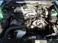 2002 Electric Green Metallic Ford Mustang V6 Convertible  photo #23