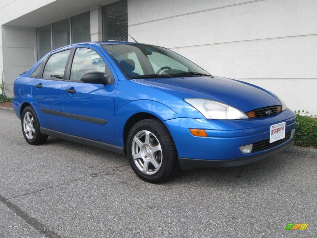 2001 malibu blue metallic ford focus se sedan 18854030 car color galleries. Black Bedroom Furniture Sets. Home Design Ideas
