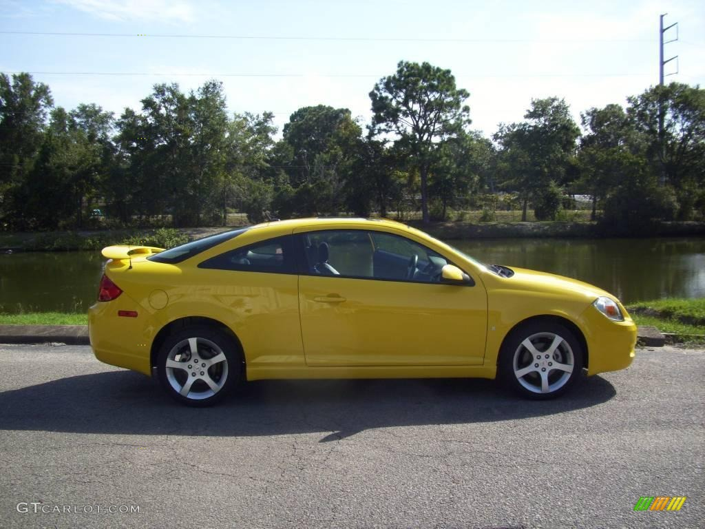 2009 Competition Yellow Pontiac G5 Gt 18854336 Gtcarlot