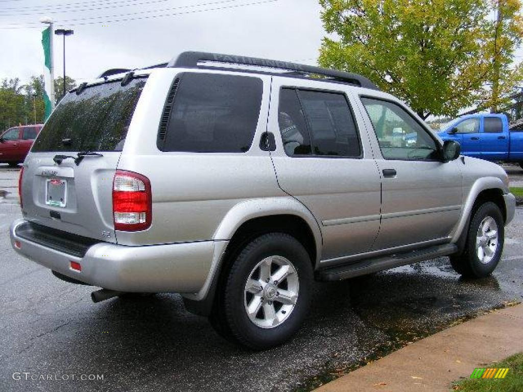 2004 pathfinder se 4x4 chrome silver metallic charcoal photo 5