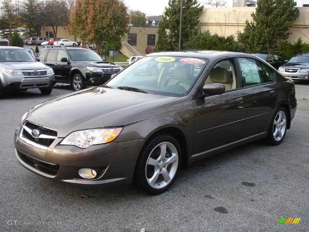 2008 deep bronze metallic subaru legacy limited sedan. Black Bedroom Furniture Sets. Home Design Ideas
