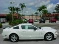 2007 Performance White Ford Mustang GT Premium Coupe  photo #2