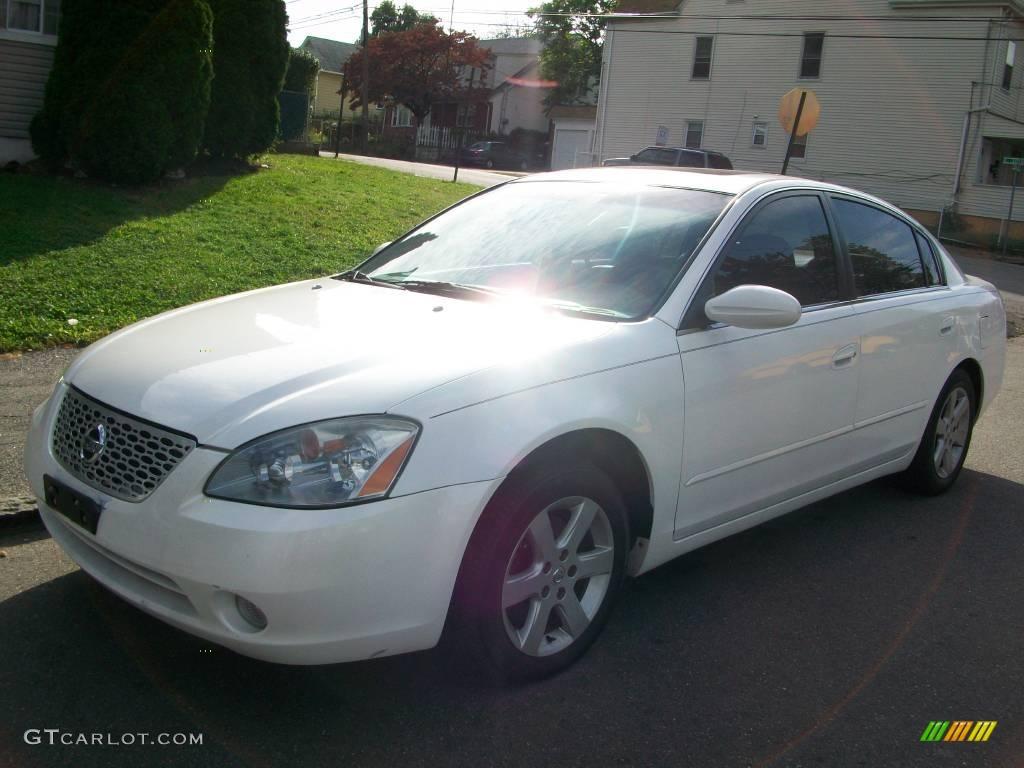 2003 Satin White Pearl Nissan Altima 2 5 S 18853883