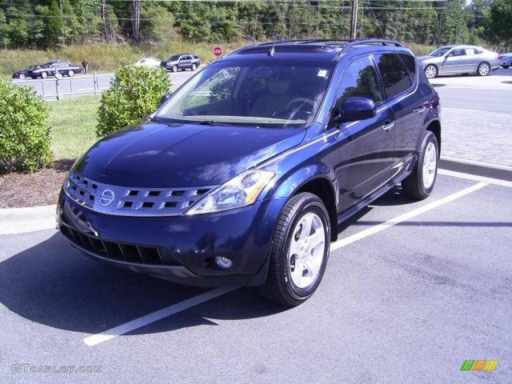 2005 Midnight Blue Pearl Nissan Murano SL #18858408   GTCarLot.com ...