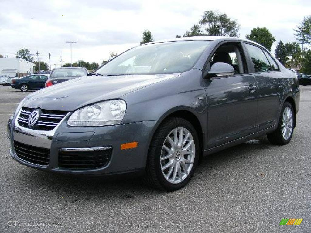 2008 platinum grey metallic volkswagen jetta wolfsburg. Black Bedroom Furniture Sets. Home Design Ideas
