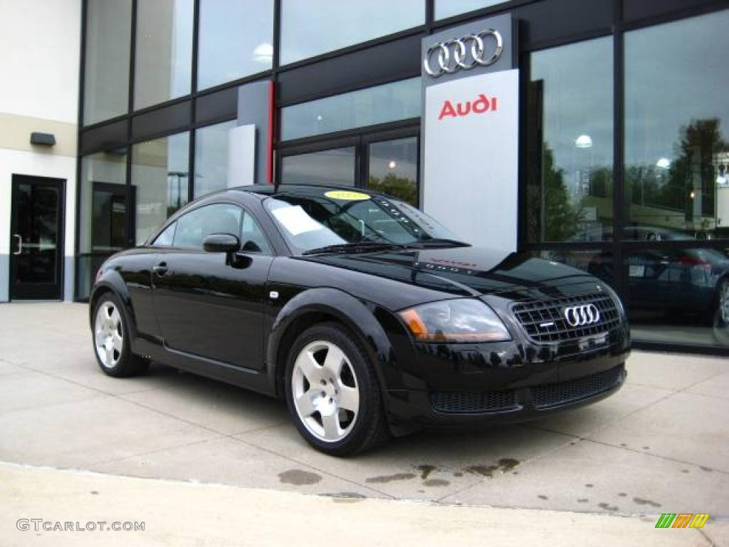 2003 brilliant black audi tt 1 8t quattro coupe 18911931 photo 2 car color. Black Bedroom Furniture Sets. Home Design Ideas