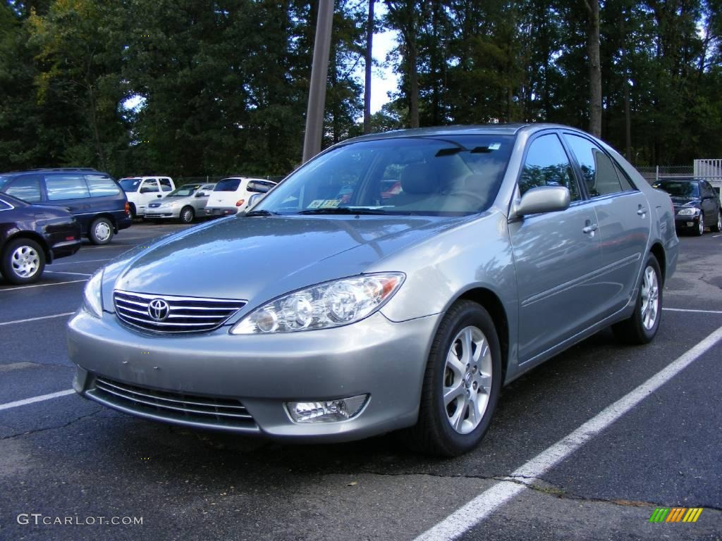 2006 phantom gray pearl toyota camry xle v6 18917449. Black Bedroom Furniture Sets. Home Design Ideas