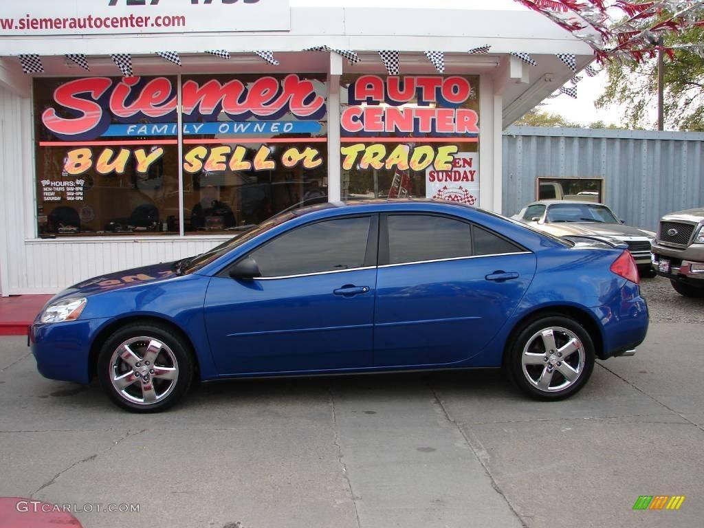 2005 Electric Blue Metallic Pontiac G6 Gt Sedan 18914466