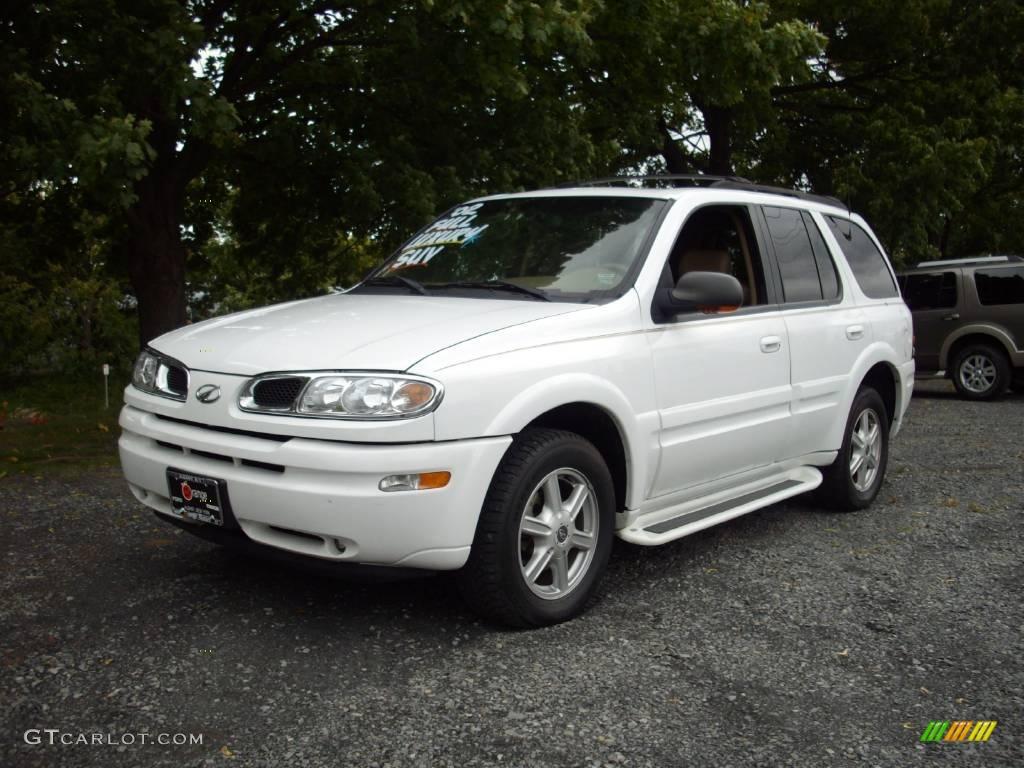 2002 Arctic White Oldsmobile Bravada Awd 18912733 Gtcarlotcom