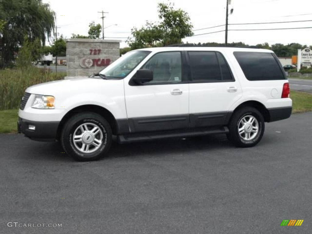 2004 Oxford White Ford Expedition Xlt 4x4 18914958 Car Color Galleries