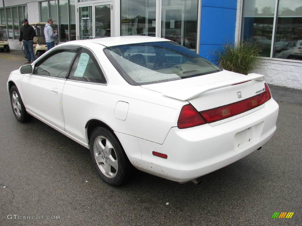 1998 Taffeta White Honda Accord Ex V6 Coupe 18910000 Photo 5 Gtcarlot Com Car Color Galleries