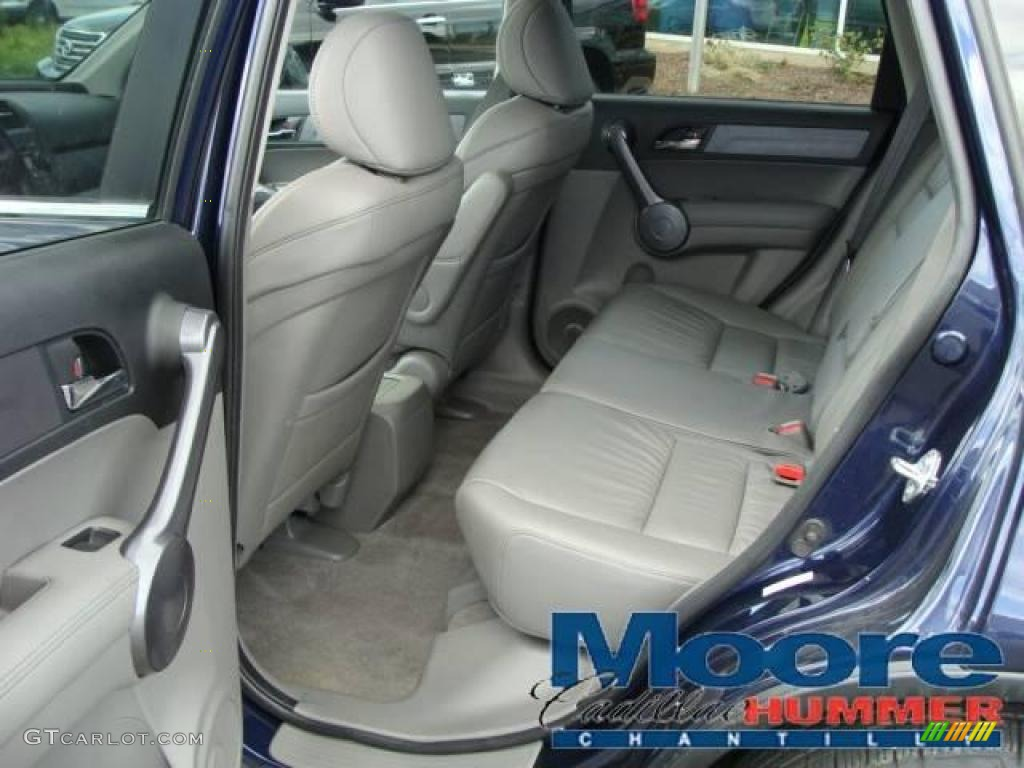 2008 CR-V EX-L 4WD - Royal Blue Pearl / Gray photo #3