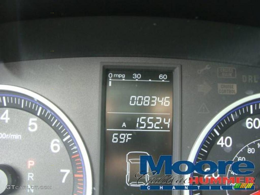 2008 CR-V EX-L 4WD - Royal Blue Pearl / Gray photo #17