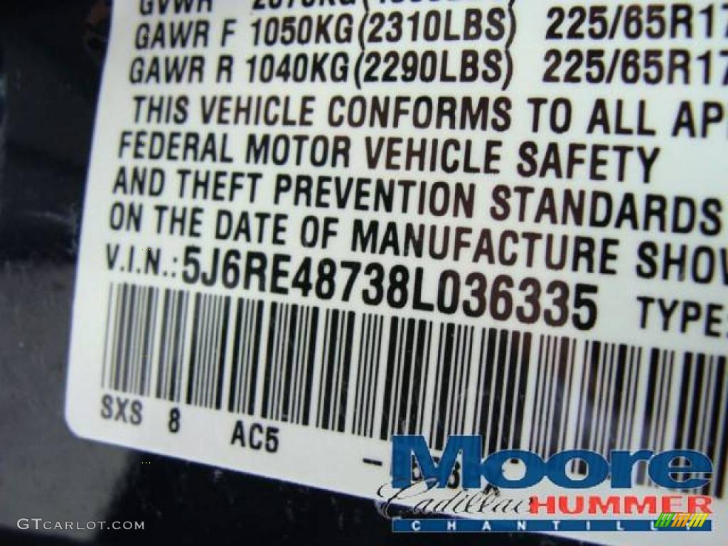 2008 CR-V EX-L 4WD - Royal Blue Pearl / Gray photo #19
