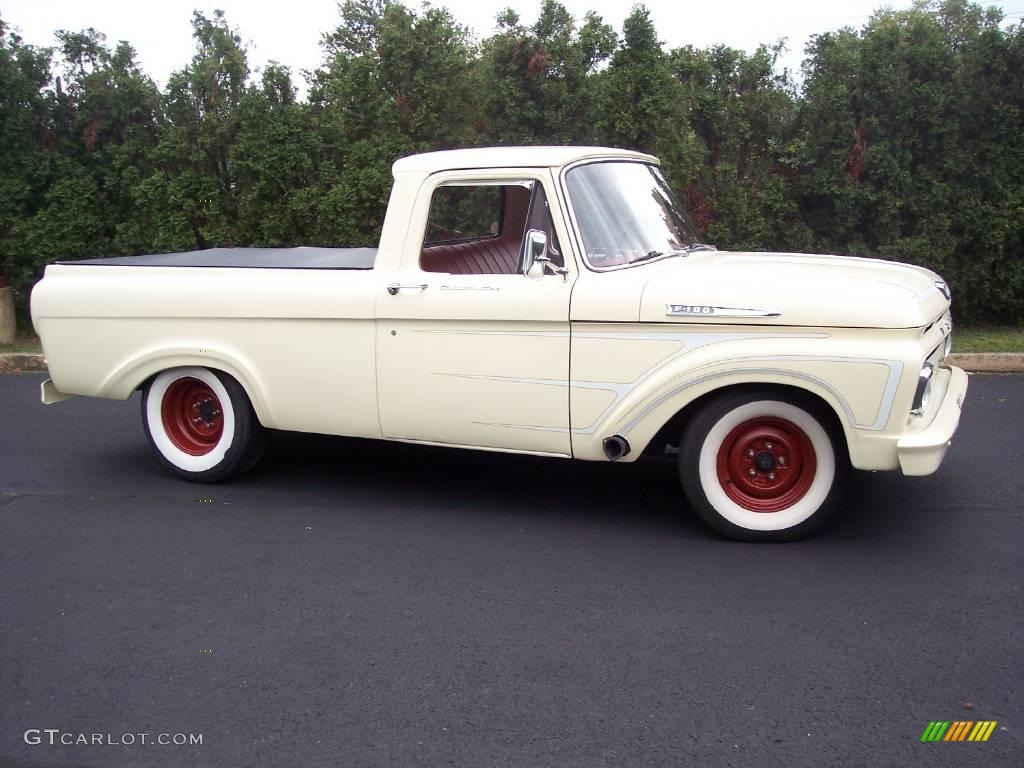 1961 Yellow Ford F100 Pickup Truck 18914761 Photo 21 Gtcarlot Red