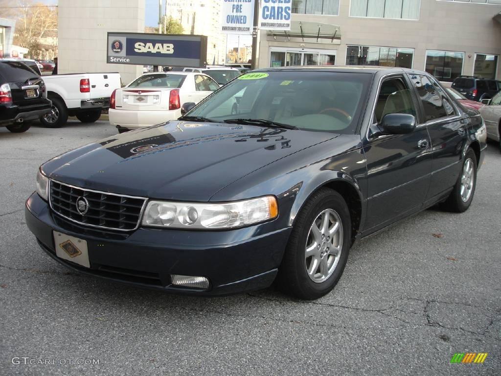 2000 Midnight Blue Cadillac Seville Sts 1872601 Photo 17