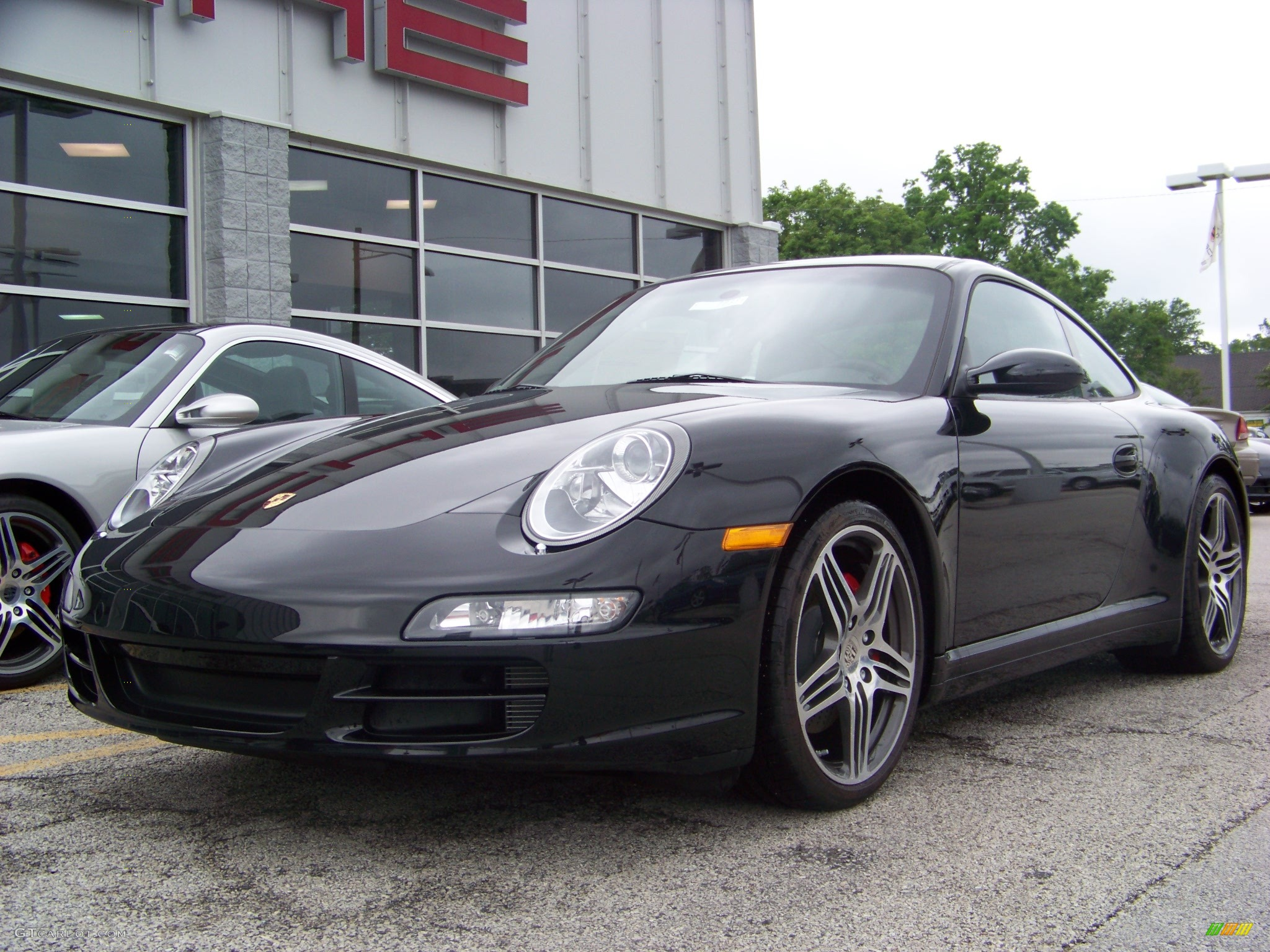 2008 basalt black metallic porsche 911 carrera 4s coupe. Black Bedroom Furniture Sets. Home Design Ideas
