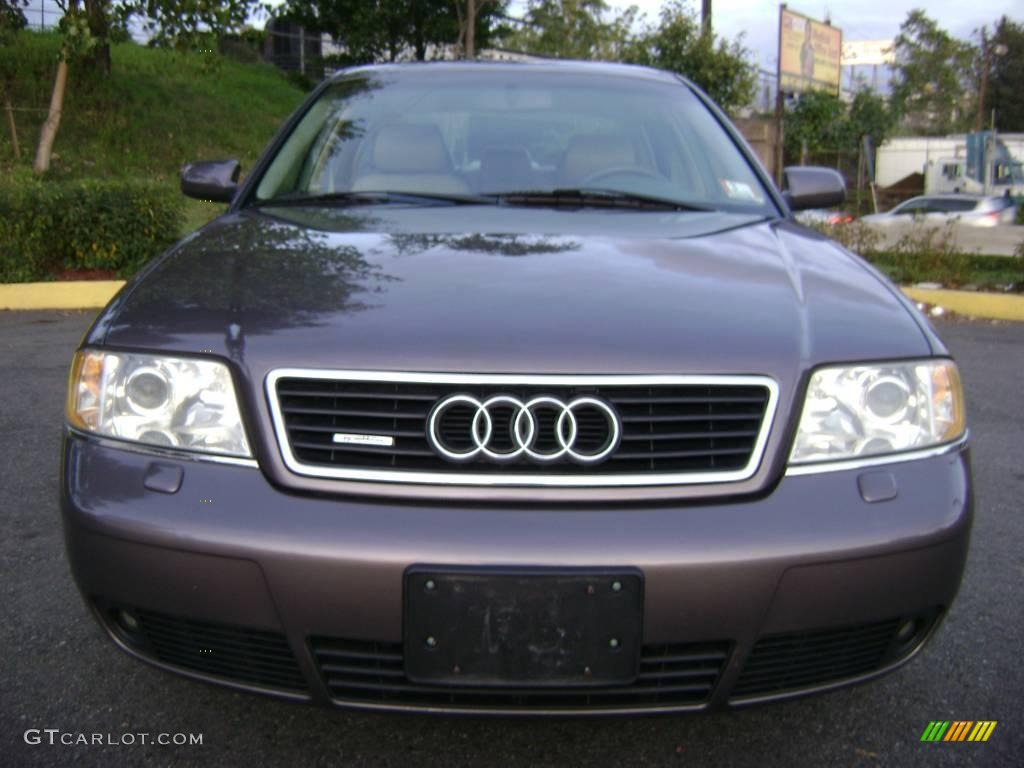 2001 cashmere gray pearl effect audi a6 2 8 quattro sedan. Black Bedroom Furniture Sets. Home Design Ideas