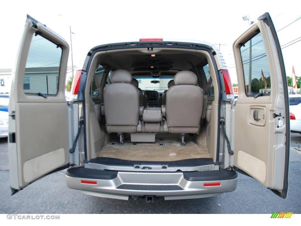 2001 express 1500 lt luxury passenger van light pewter metallic neutral photo 41