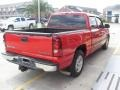 2005 Victory Red Chevrolet Silverado 1500 LS Crew Cab  photo #4