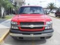 2005 Victory Red Chevrolet Silverado 1500 LS Crew Cab  photo #6