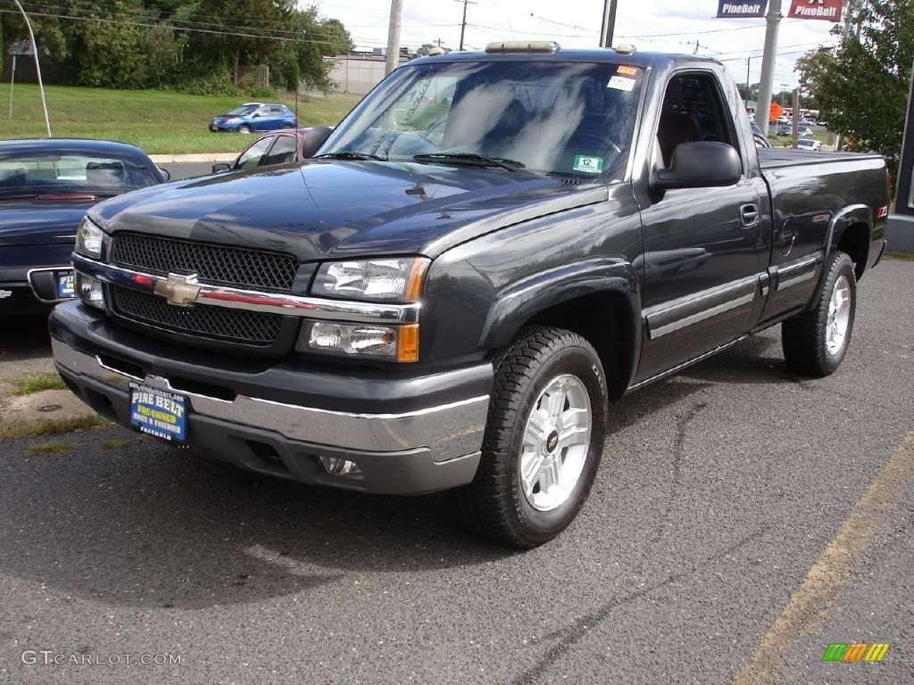 2004 Chevrolet Silverado 1500 Regular Cab >> 2004 Dark Gray Metallic Chevrolet Silverado 1500 Z71 Regular