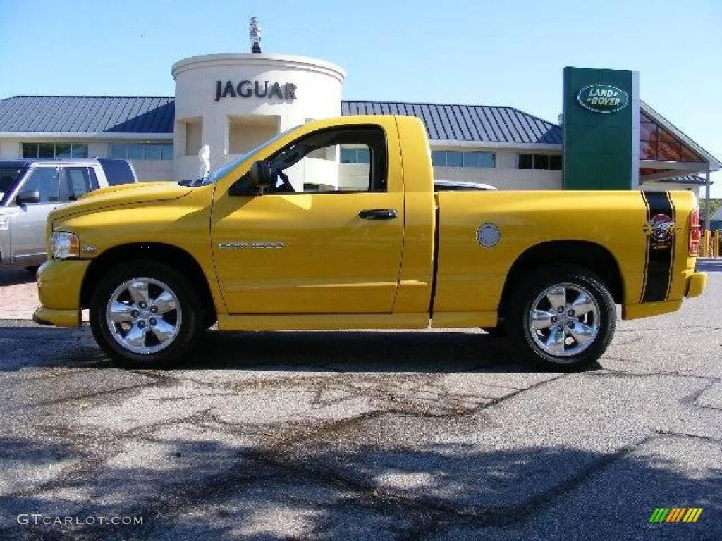 Solar Yellow 2005 Dodge Ram 1500 SLT Rumble Bee Regular Cab Exterior ...