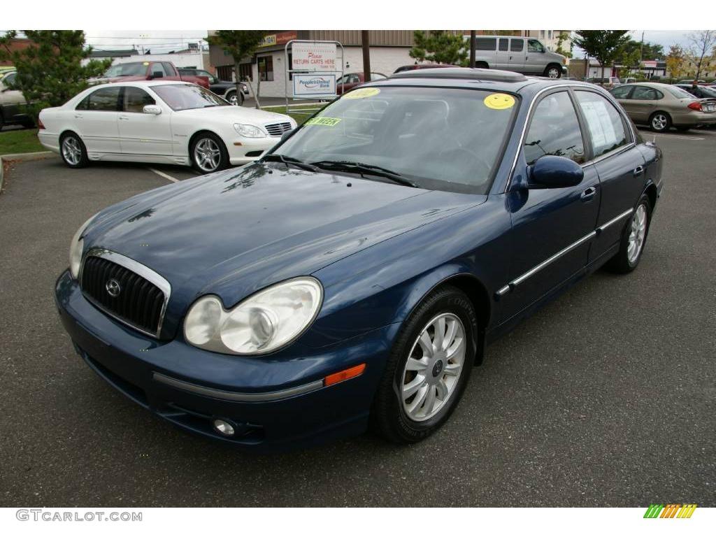 2002 ardor blue hyundai sonata lx v6 19005109 gtcarlot com car color galleries gtcarlot com