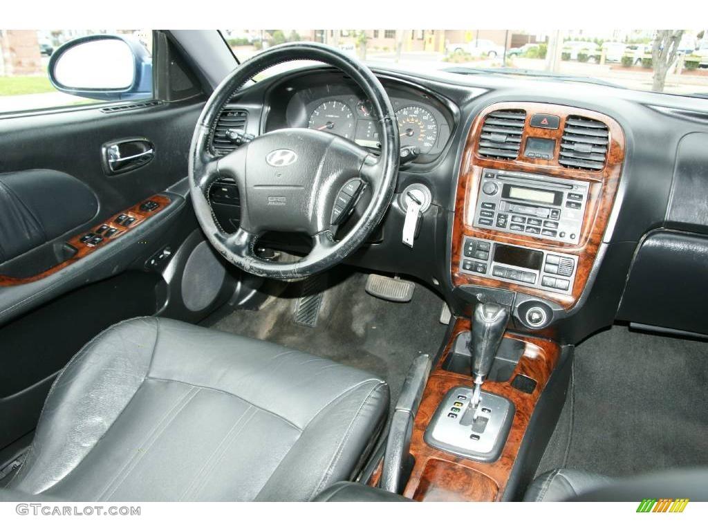 2002 Ardor Blue Hyundai Sonata Lx V6 19005109 Photo 14