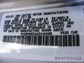 Liquid Platinum Metallic - Vibe 2.4L Photo No. 21
