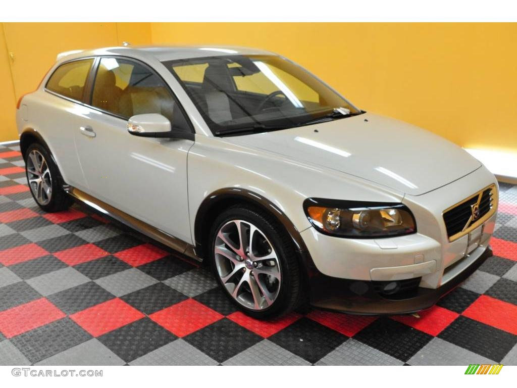 2008 cosmic white metallic volvo c30 t5 version 2 0 19007982 car color galleries. Black Bedroom Furniture Sets. Home Design Ideas