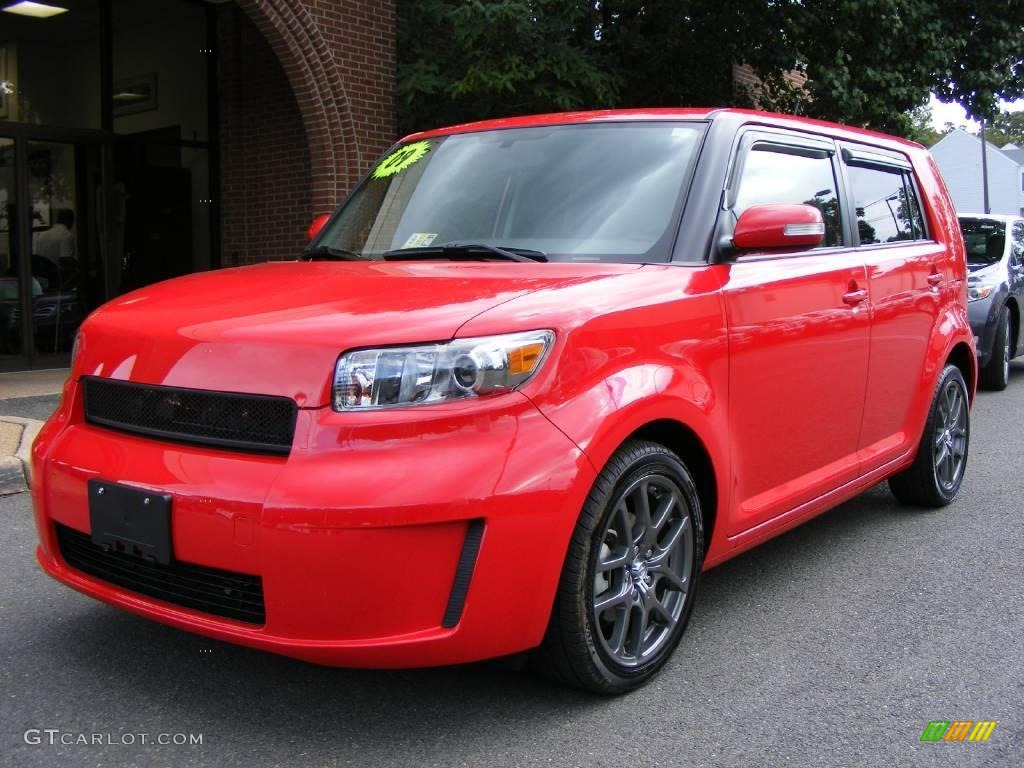 2009 Absolutely Red Scion Xb Release Series 6 0 19008088