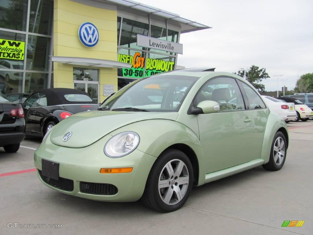 2006 gecko green metallic volkswagen new beetle 2 5 coupe 19006769 car color. Black Bedroom Furniture Sets. Home Design Ideas