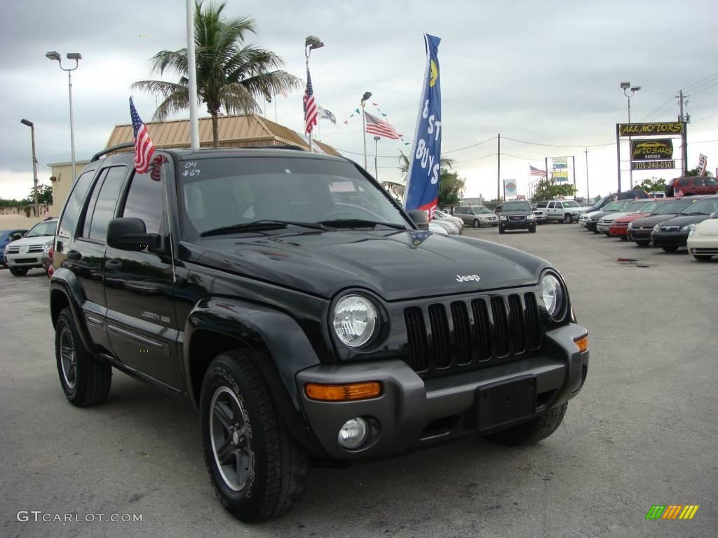 2004 black clearcoat jeep liberty sport 4x4 columbia. Black Bedroom Furniture Sets. Home Design Ideas